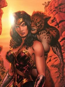 Wonder Woman the Lies Cheetah